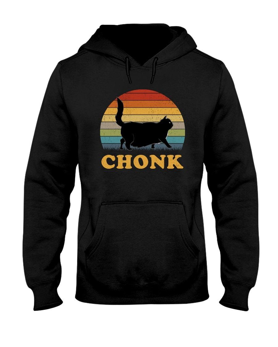 Fat Chonk Cat Vintage Hoodie