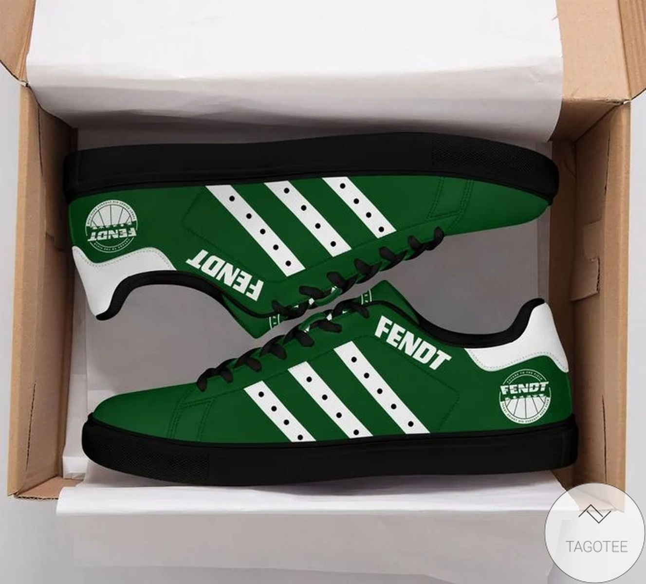 Fendt Green Stan Smith Shoes
