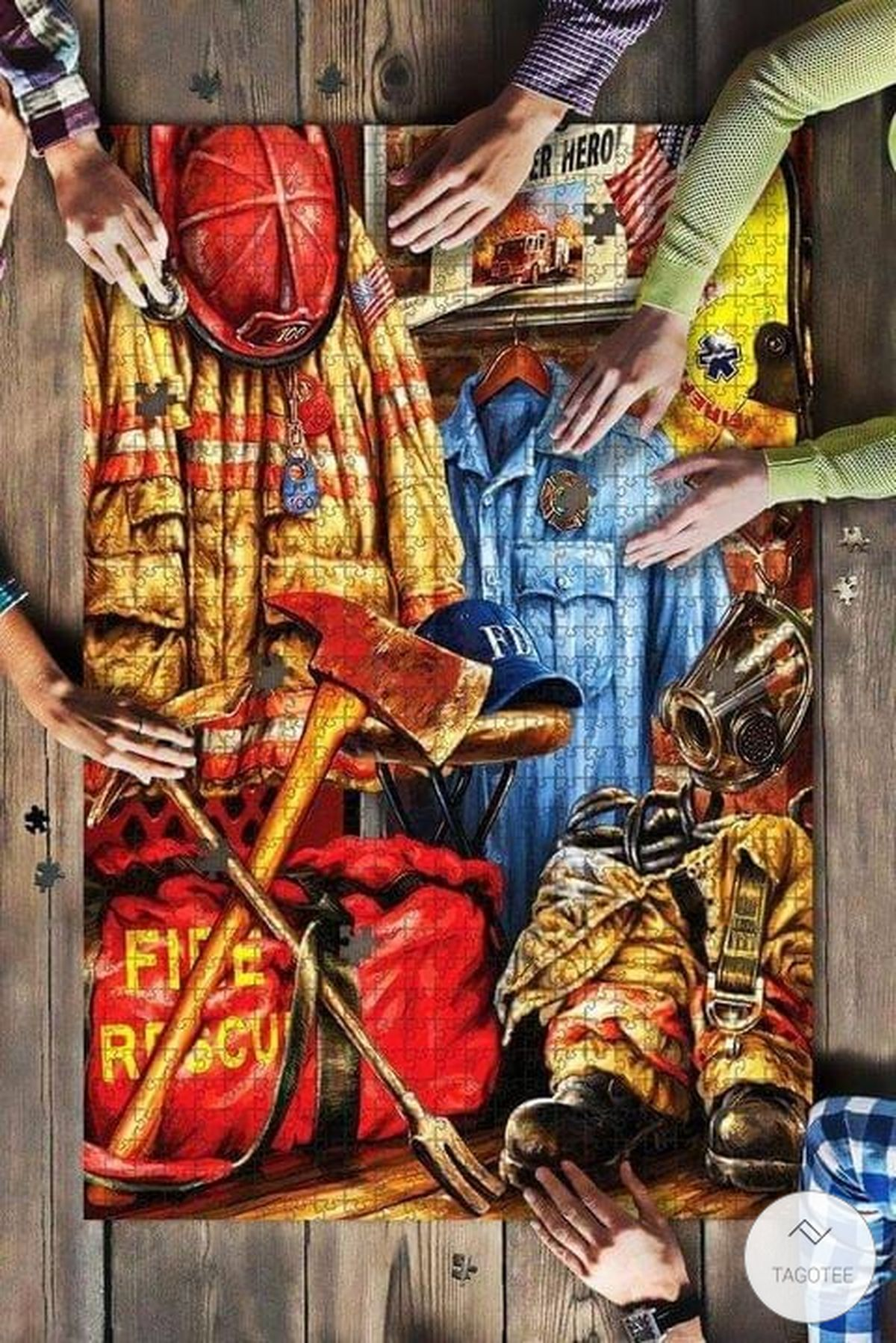 Firefighter Jigsaw Puzzle
