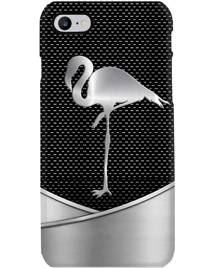 Flamingo as metal phone case 7