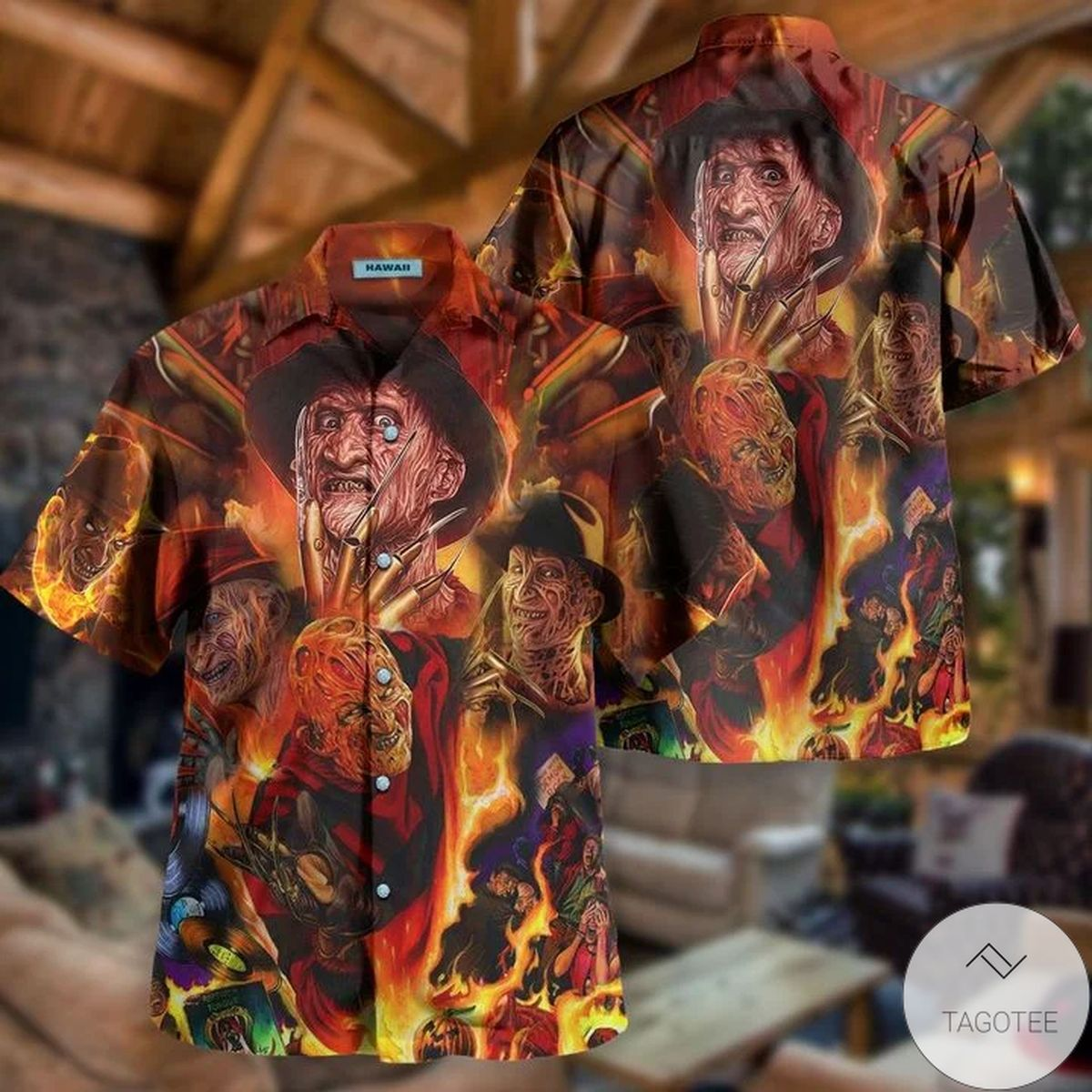 Freddy Krueger Killin' It Since 1984 Hawaiian Shirt