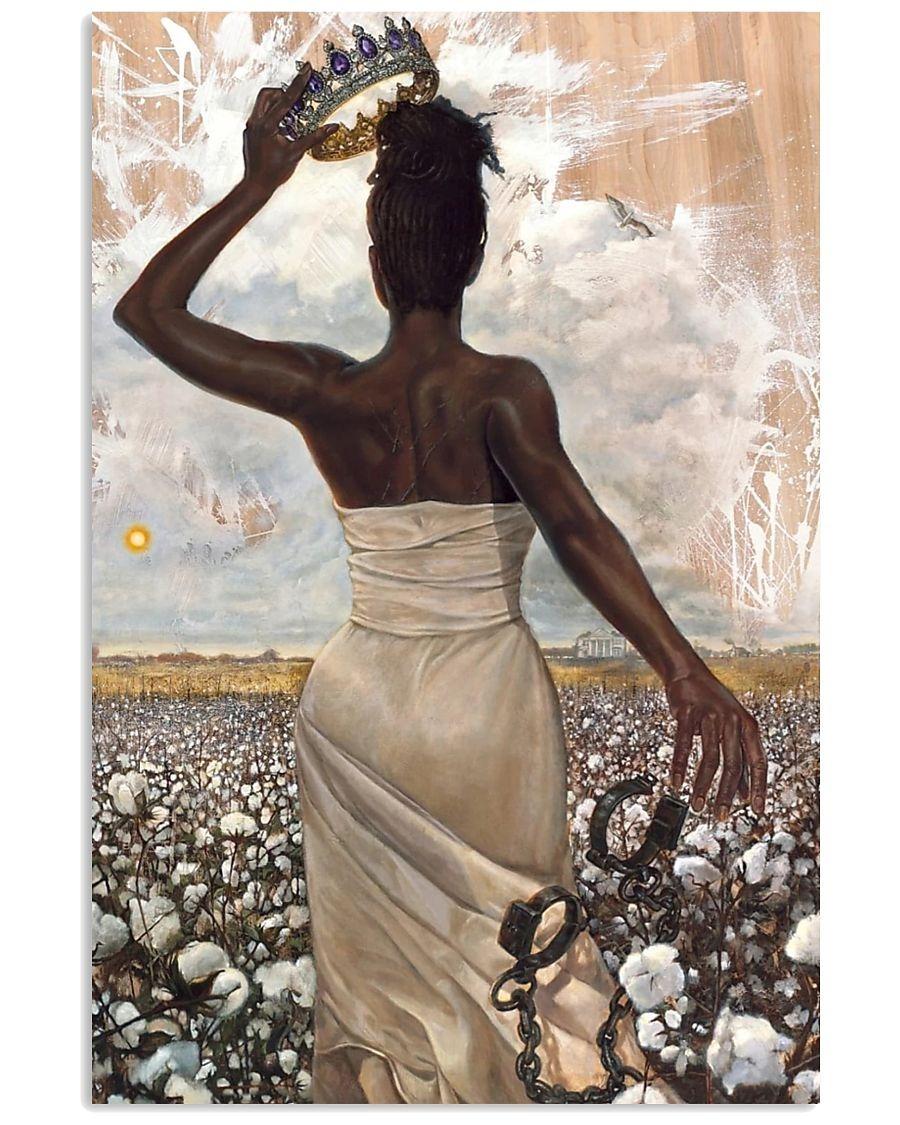 Free Black Women Queen poster 1