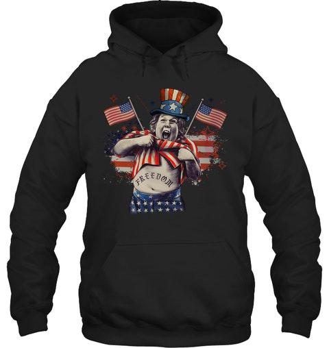 Freedom The Goonies 4th of July hoodie