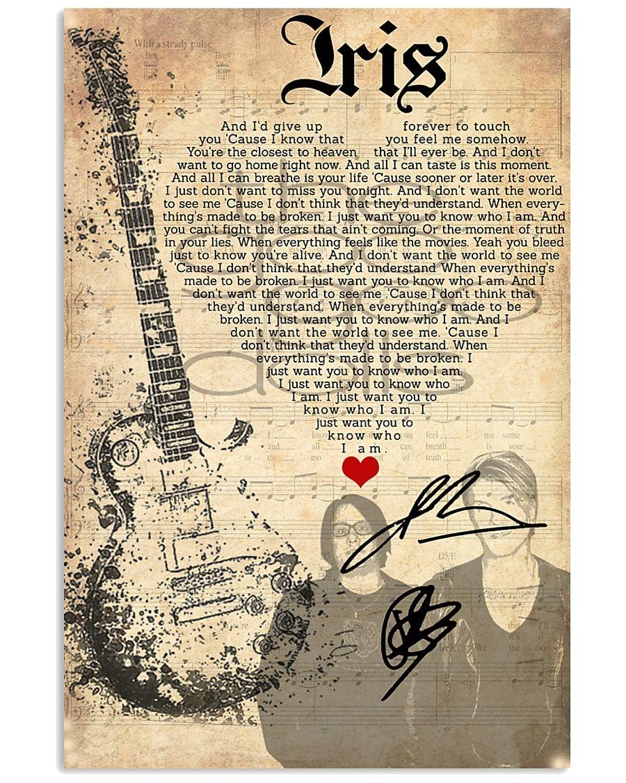 Goo Goo Dolls - Iris Lyrics poster