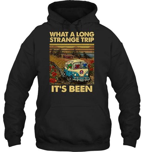 Grateful Dead - What A Long Strange Trip It's Been hoodie