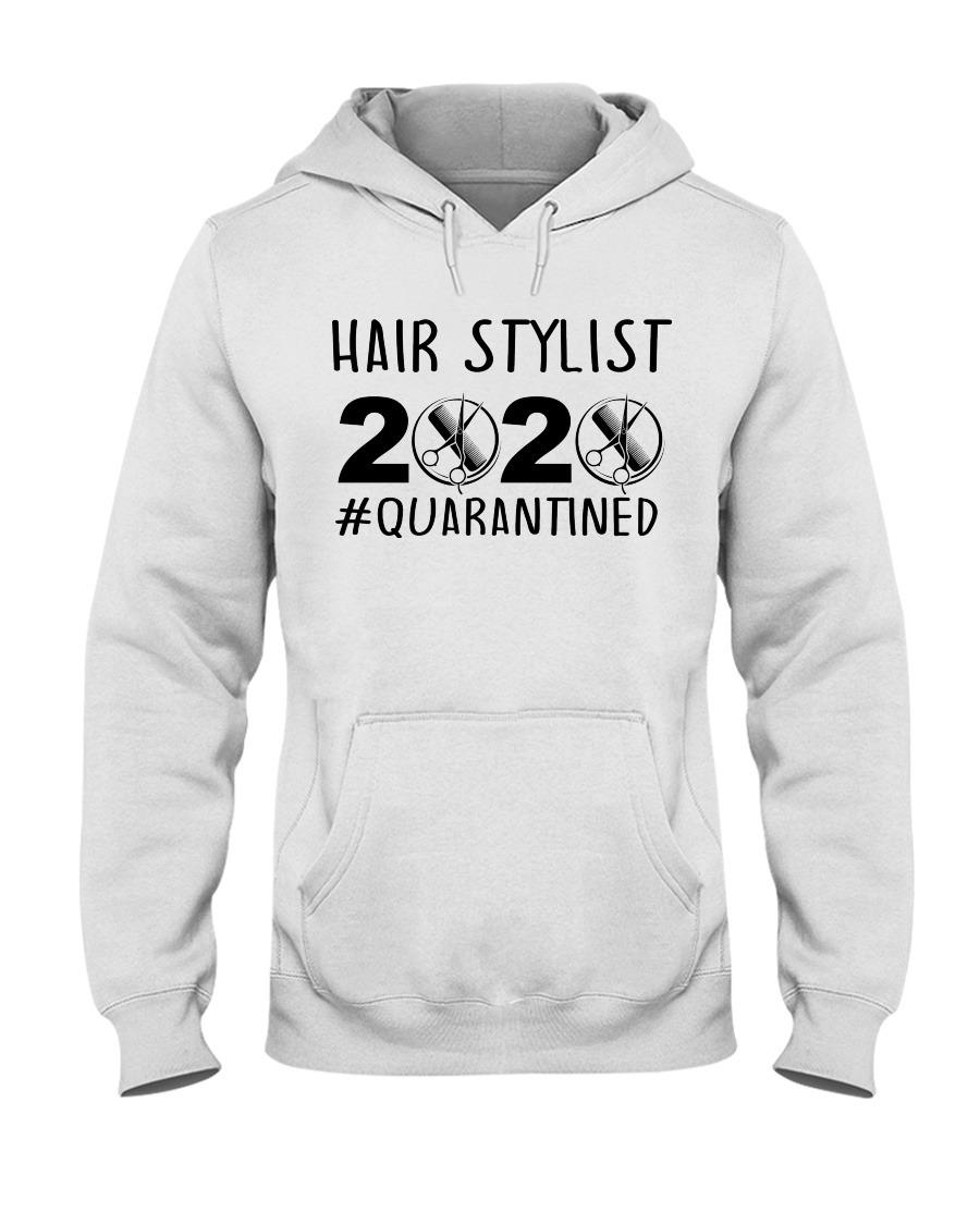 Hair stylist 2020 Quarantined hoodie
