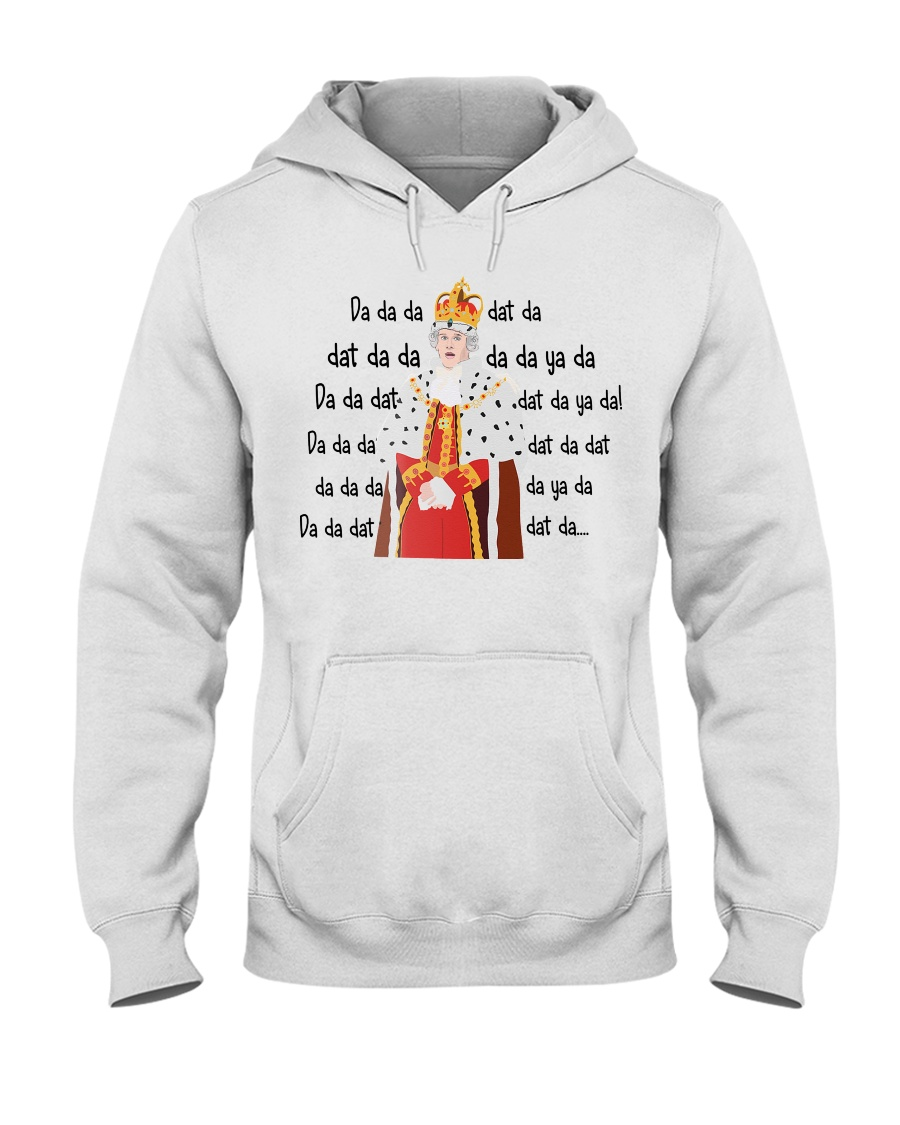 Hamilton - King George da da da hoodie