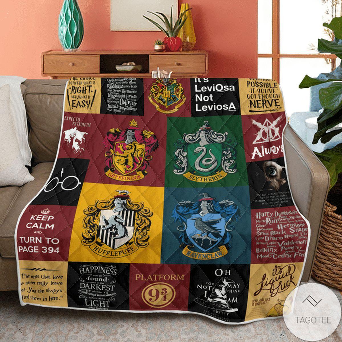 Luxury Harry Potter Blanket Quilt