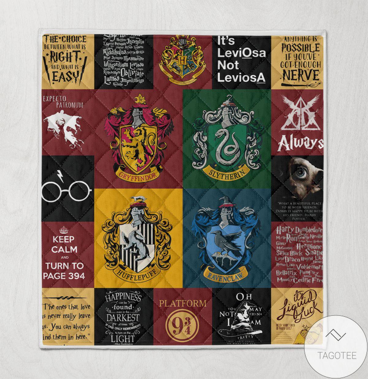 Best Harry Potter Blanket Quilt