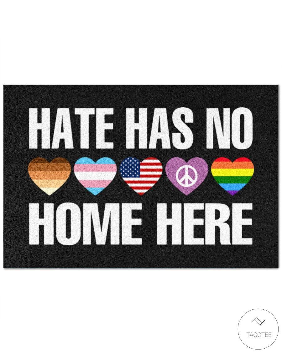 Hate Has No Home Here Doormat_result