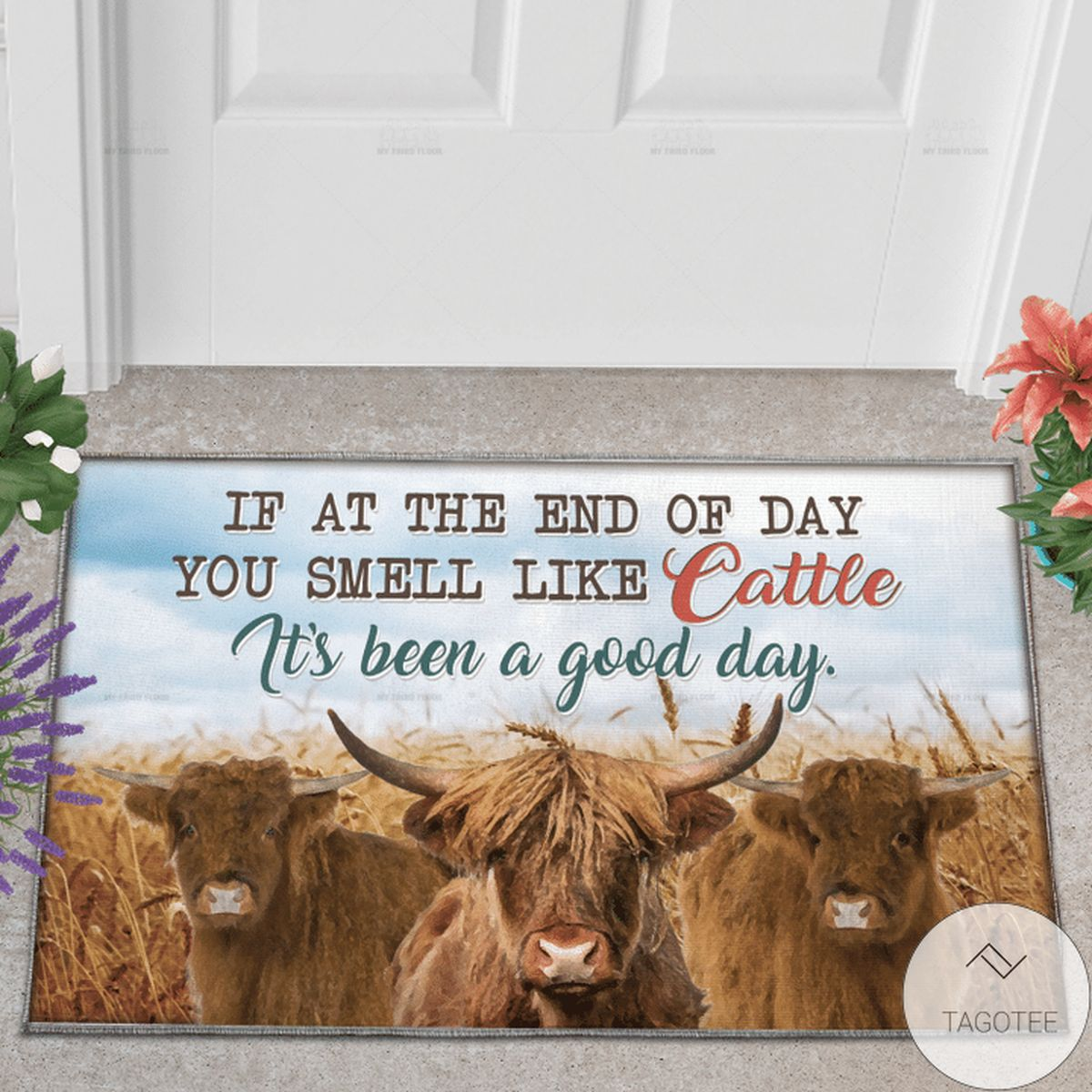 Highland Cattle Lovers It's Been A Good Day Doormat