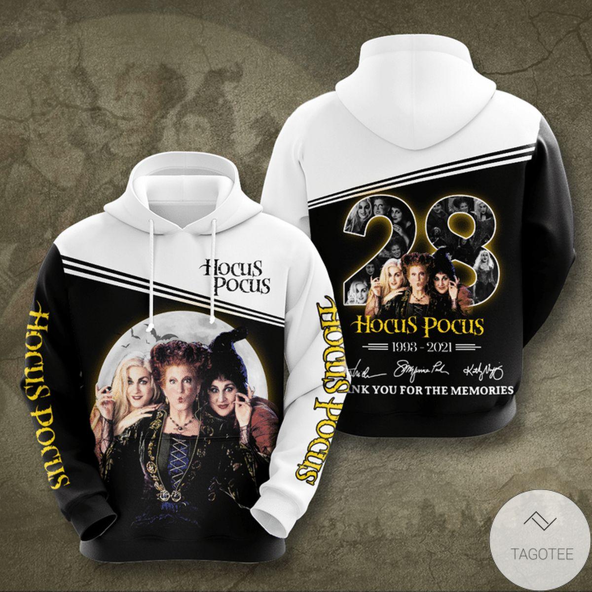 Hocus Pocus 28 Years Anniversary Hoodie
