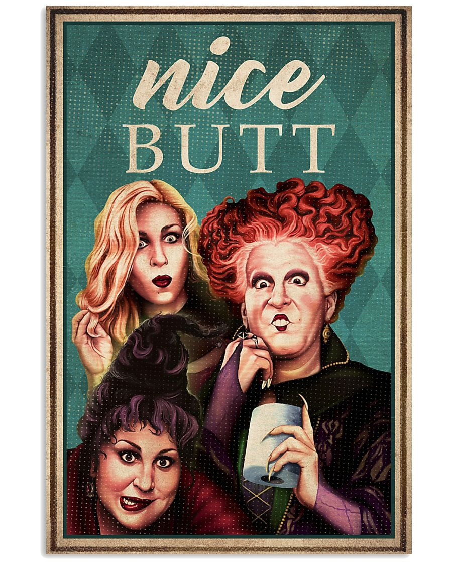 Hocus Pocus Nice Butt poster
