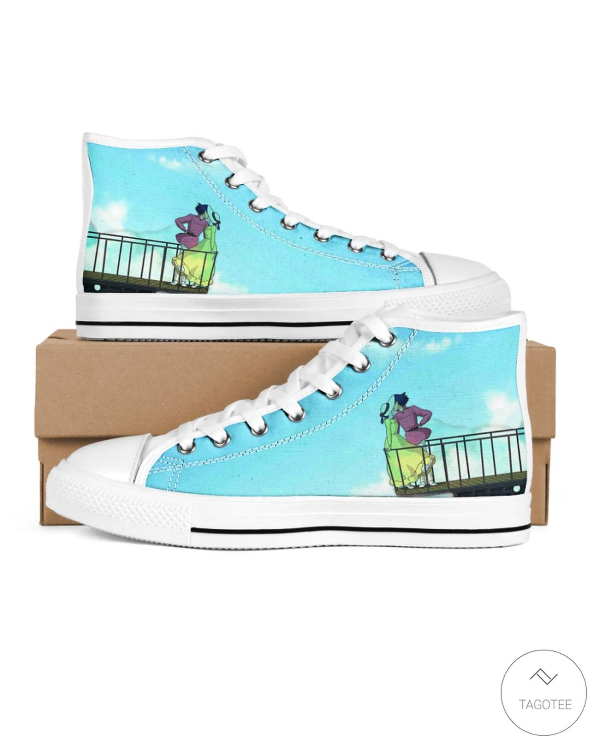 Howl's Moving Castle High Top Shoes