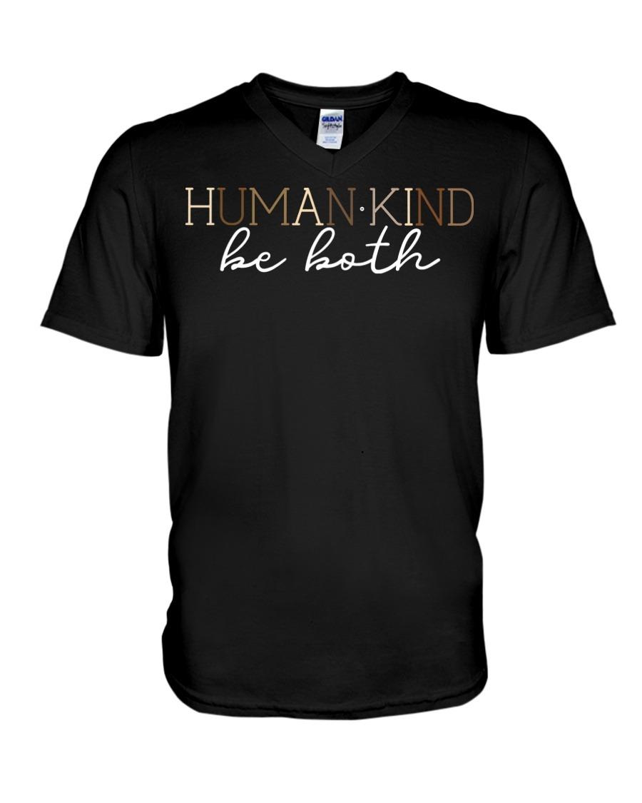 Human - Kind Be Both V-neck