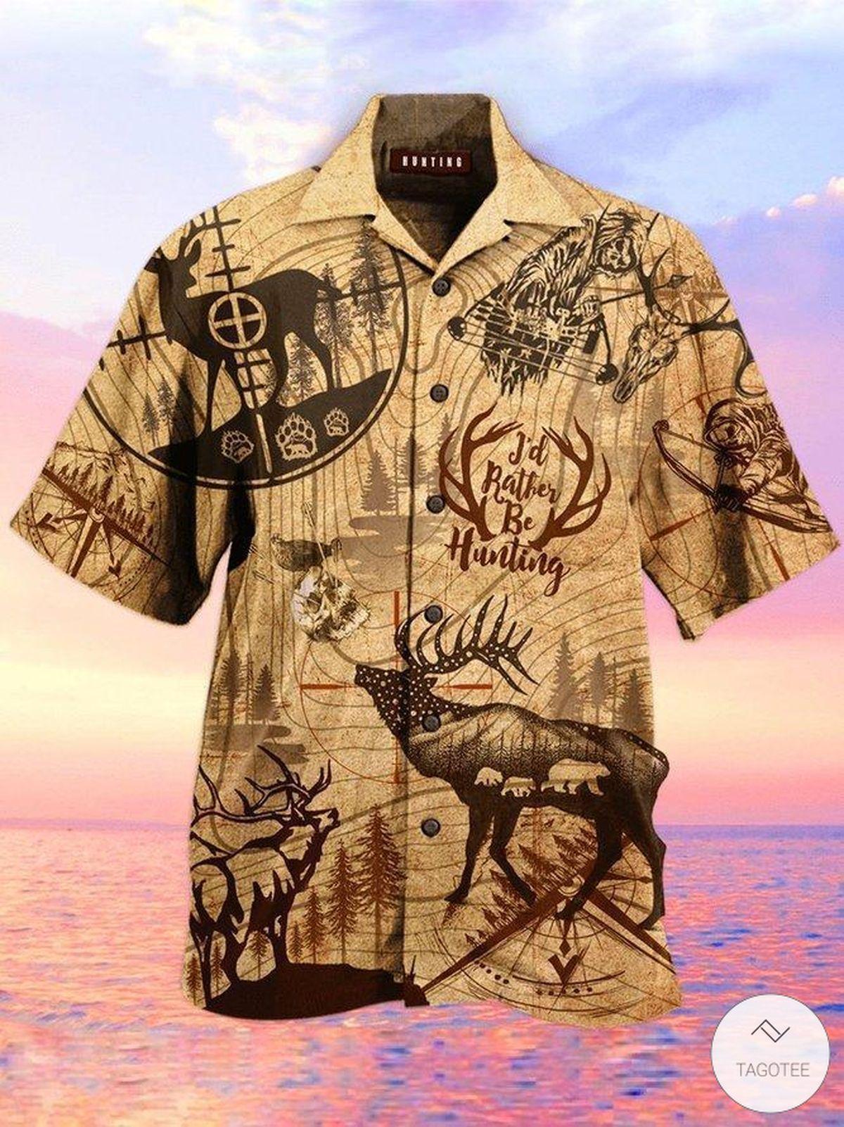 Hunting Deer Hawaiian Shirt