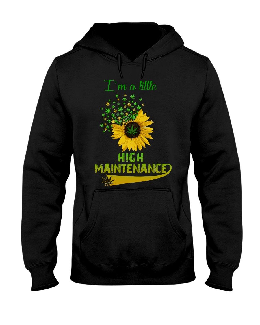 I'm a little high maintenance sunflower weed hoodie