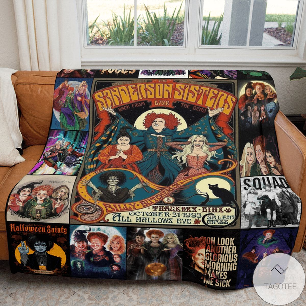 Hot Deal In A World Full Of Basic Witches Be A Sanderson Sister Hocus Pocus Blanket