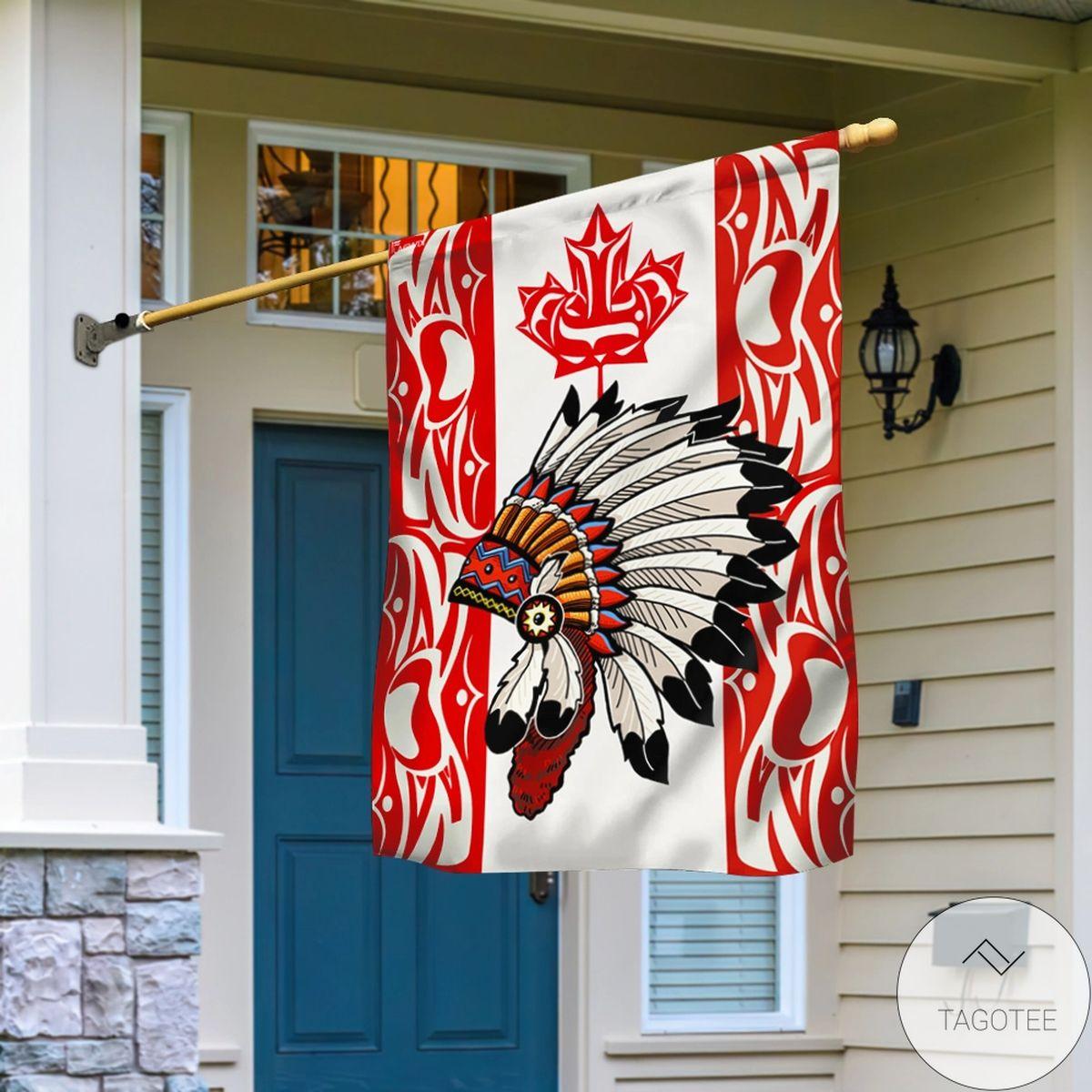 Indigenous Flag Indigenous Canadian Flag