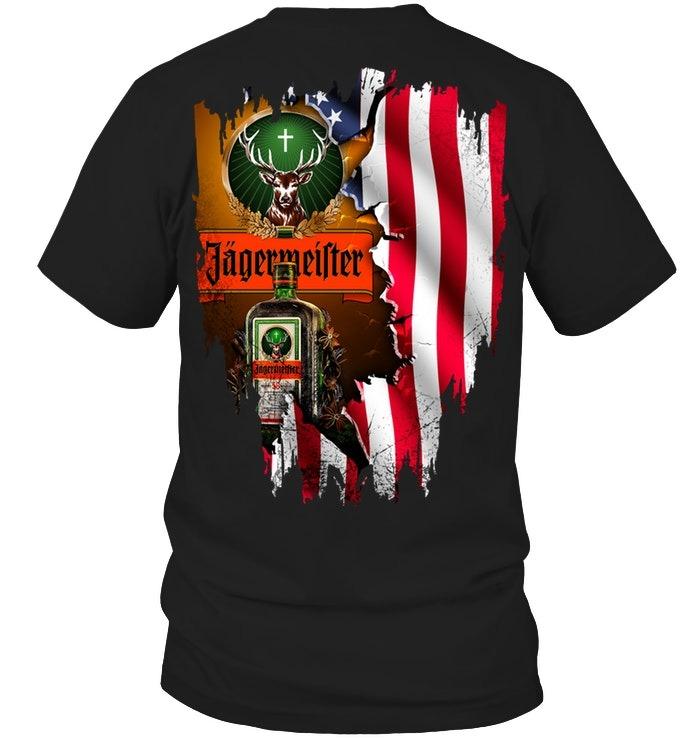 Jagermeister American Flag shirt