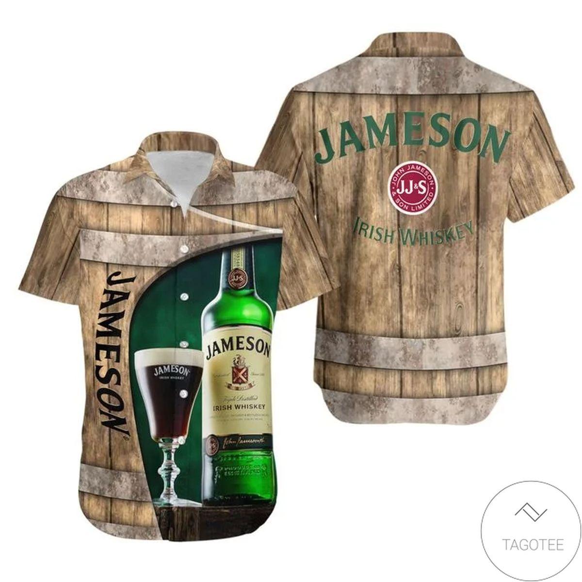 Jameson Barrel Hawaiian Shirt