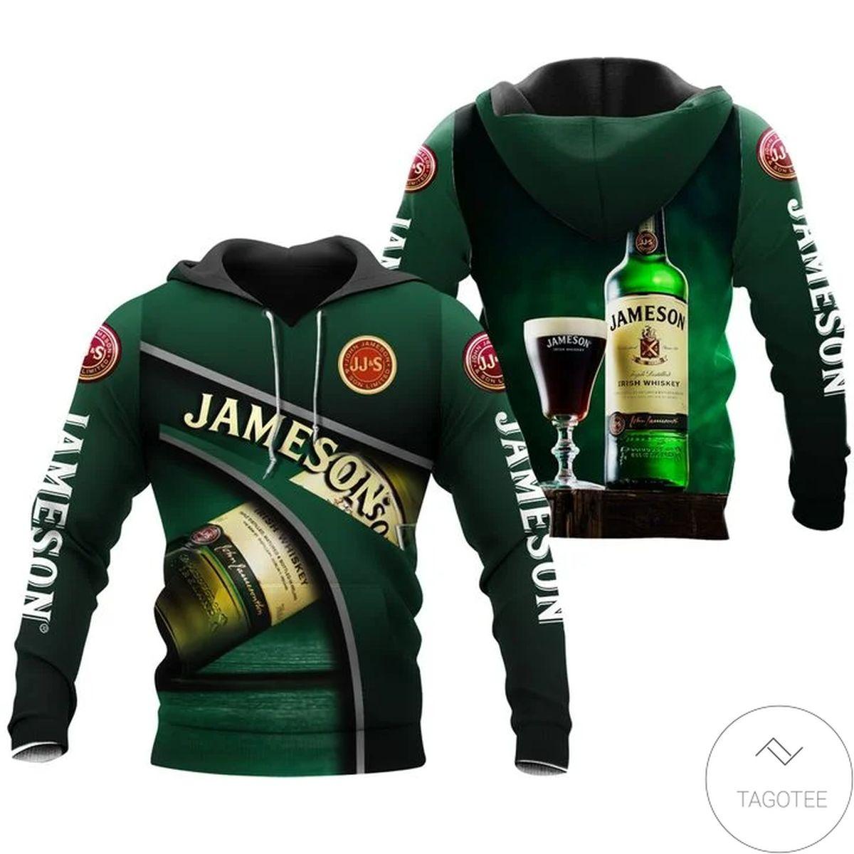 Jameson Irish Whiskey Hoodie