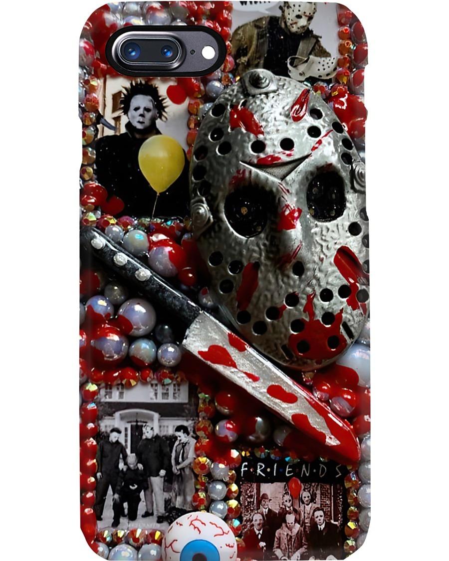 Jason Voorhees Michael Myers horror film characters phone case