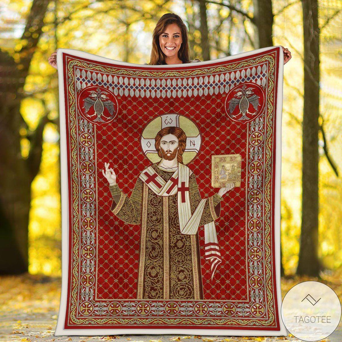 Jesus I Trust In You Blanket