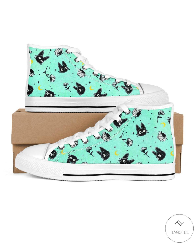 Jiji The Cat High Top Shoes