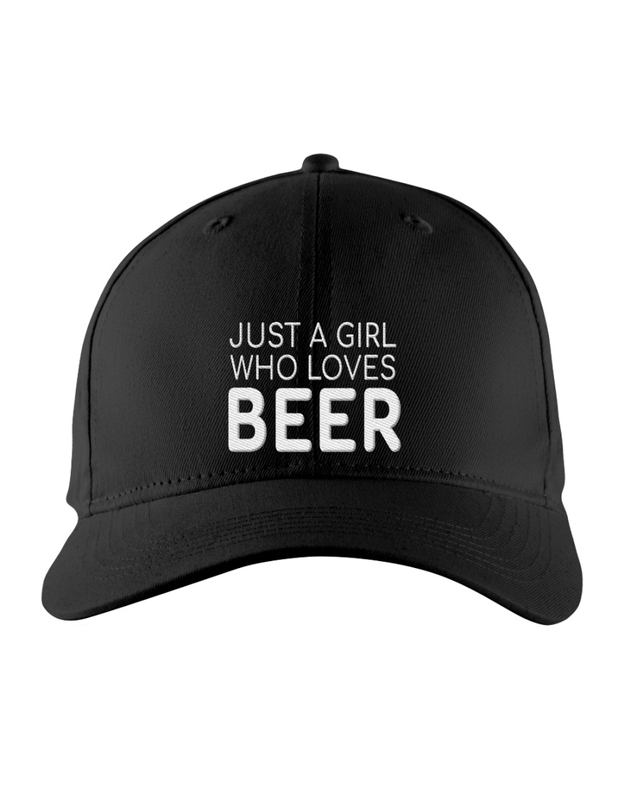 Just A Girl Who Loves Beer hat 1