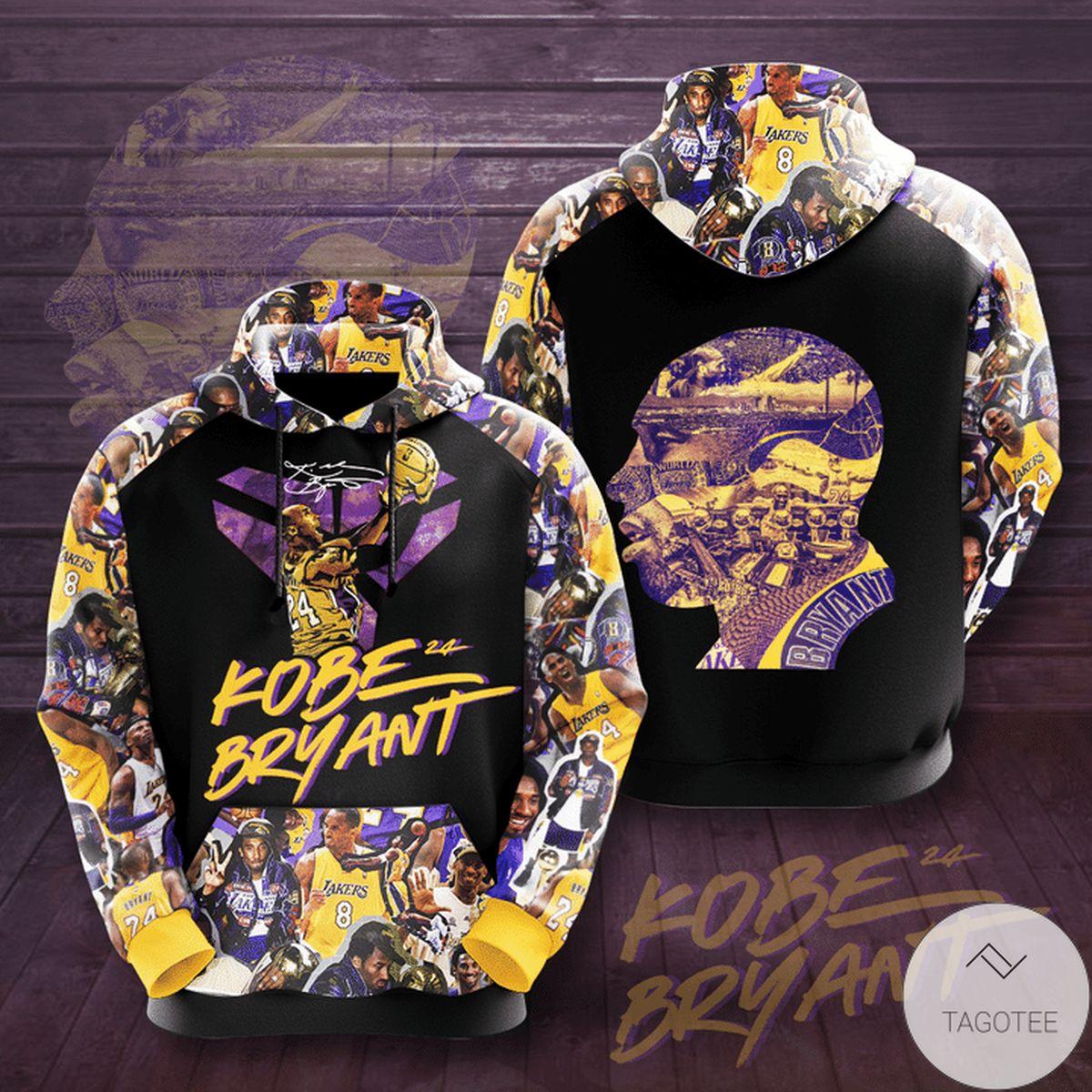 Kobe Bryant 3d Hoodie