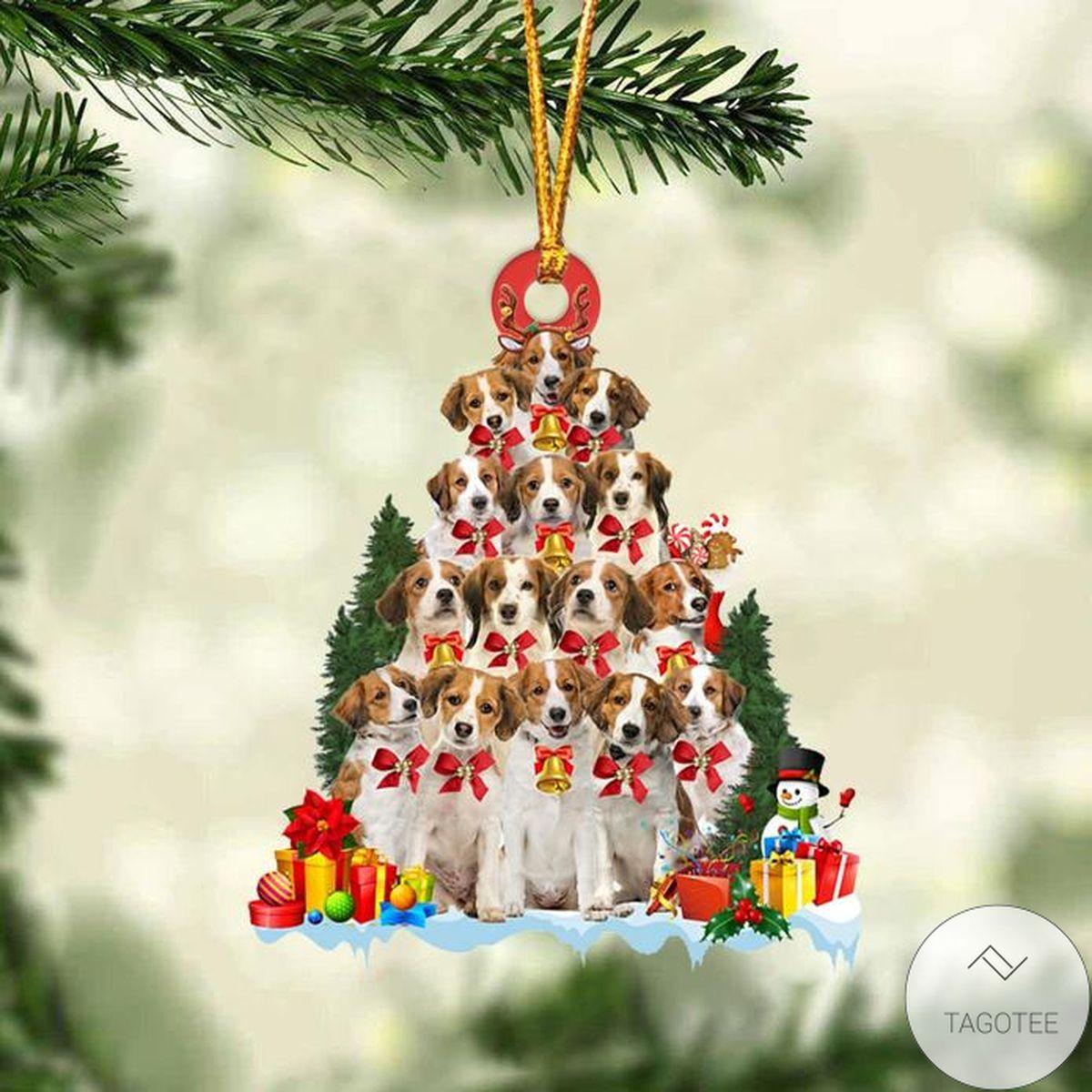 Kooikerhondje Dog Christmas Tree Ornament