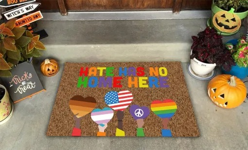 LGBT Hate Has No Home Here Doormat6
