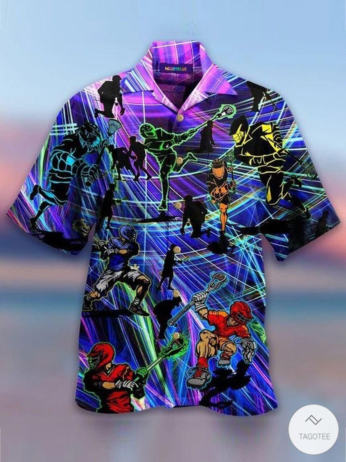 Lacrosse Players Hawaiian Shirt