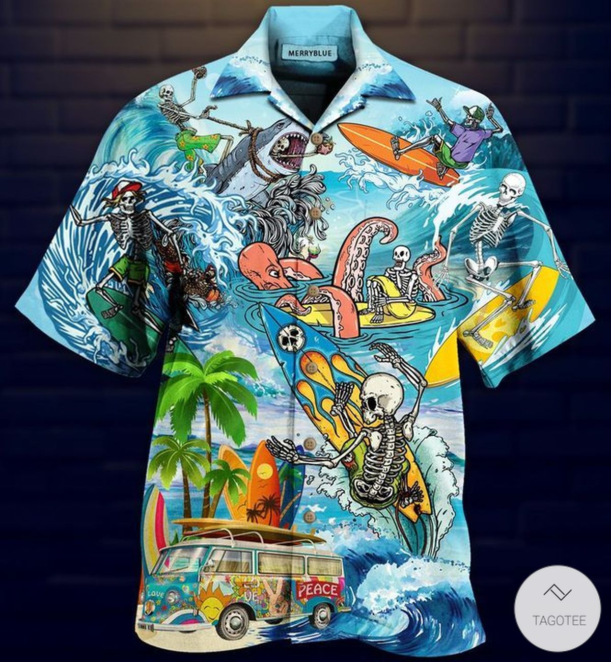 Live To Surf, Surf To Live Unisex Hawaiian Shirt