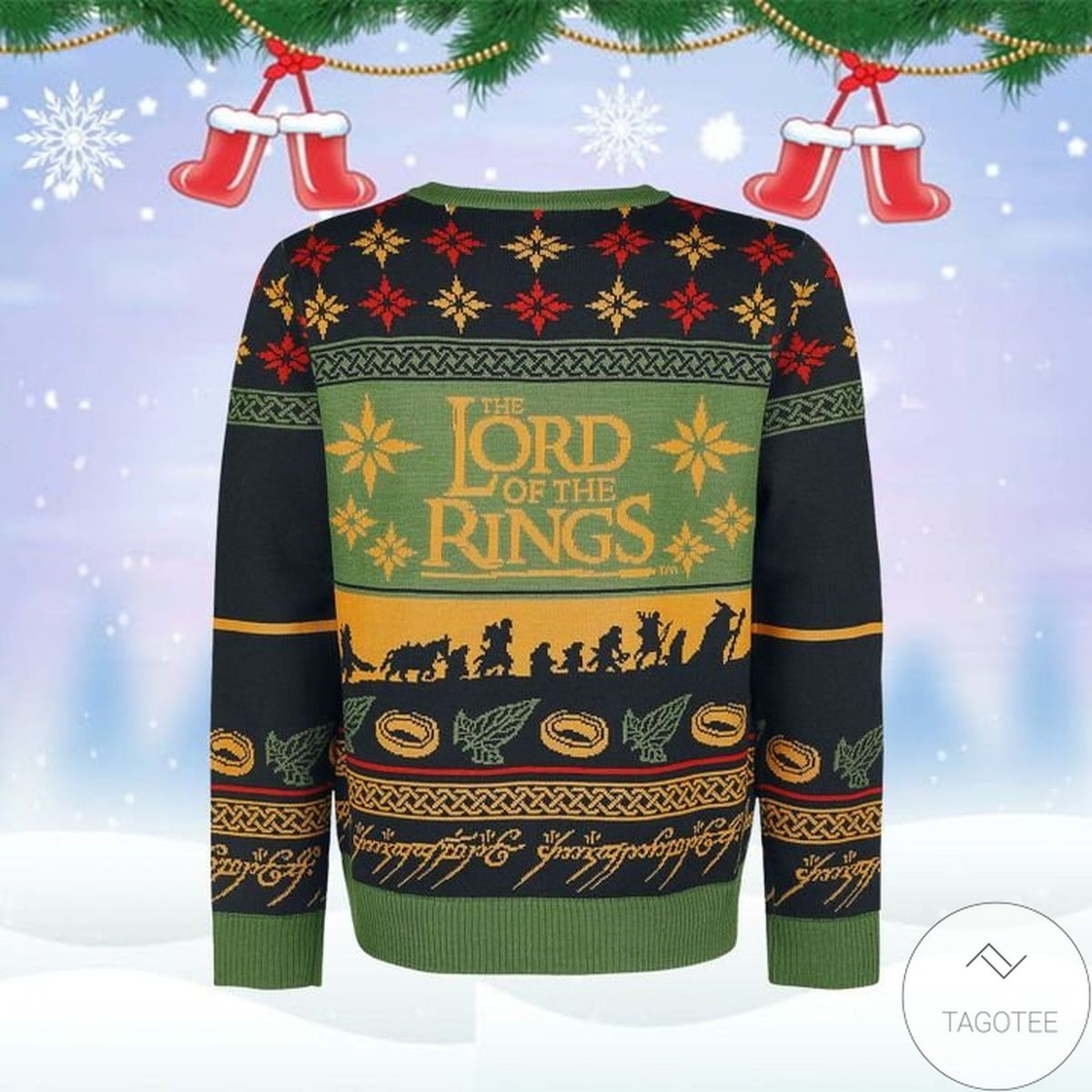 Lord Of The Rings Ugly Christmas Sweater