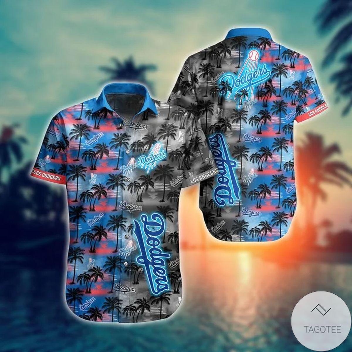 Los Angeles Dodgers MLB Hawaiian Shirt