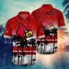 Louisville Cardinals Tropical Hawaiian Shirt, Beach Short