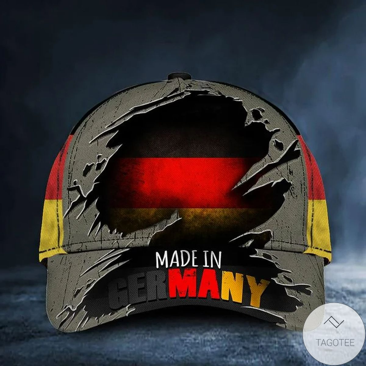 Made In Germany Hat Patriotic Horizontal German Flag Cap