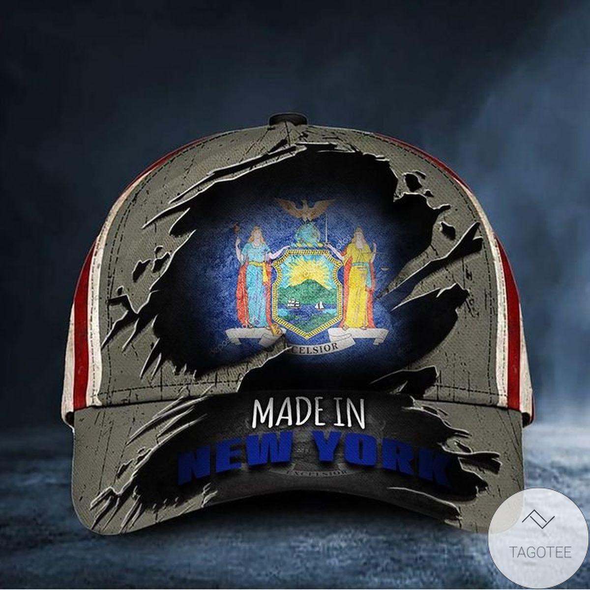 Made In New York Hat American Baseball Cap