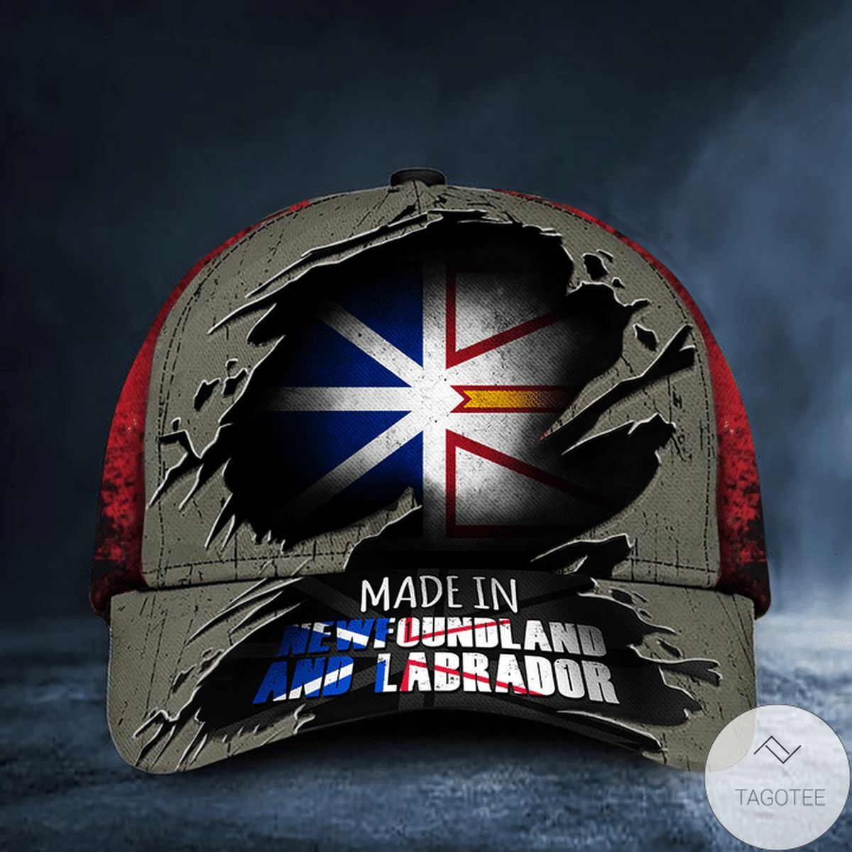 Made In Newfoundland And Labrador Hat Patriotic Baseball Cap Unique Gifts For Dad