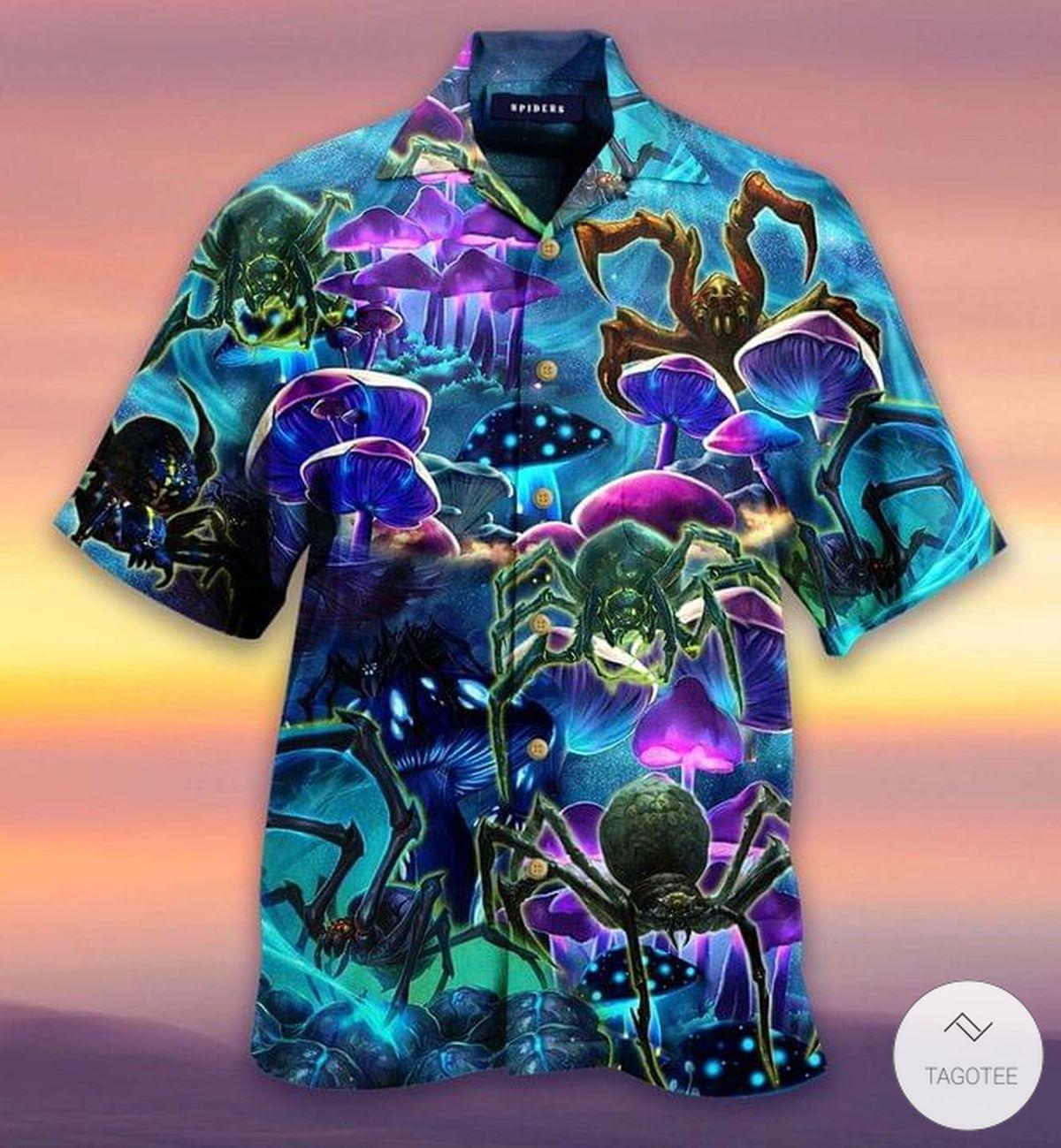 Magical Spiders Hawaiian Shirt