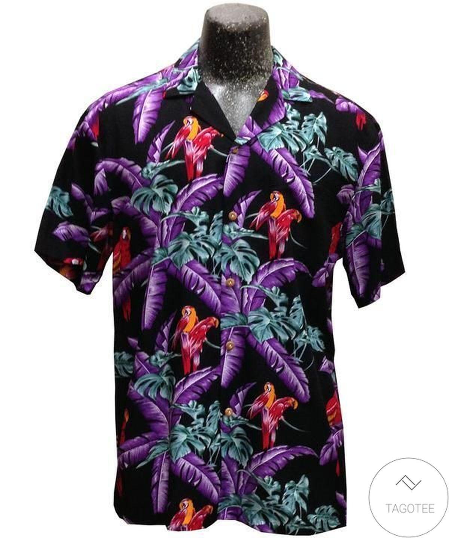 Magnum Pi Black Hawaiian Shirt