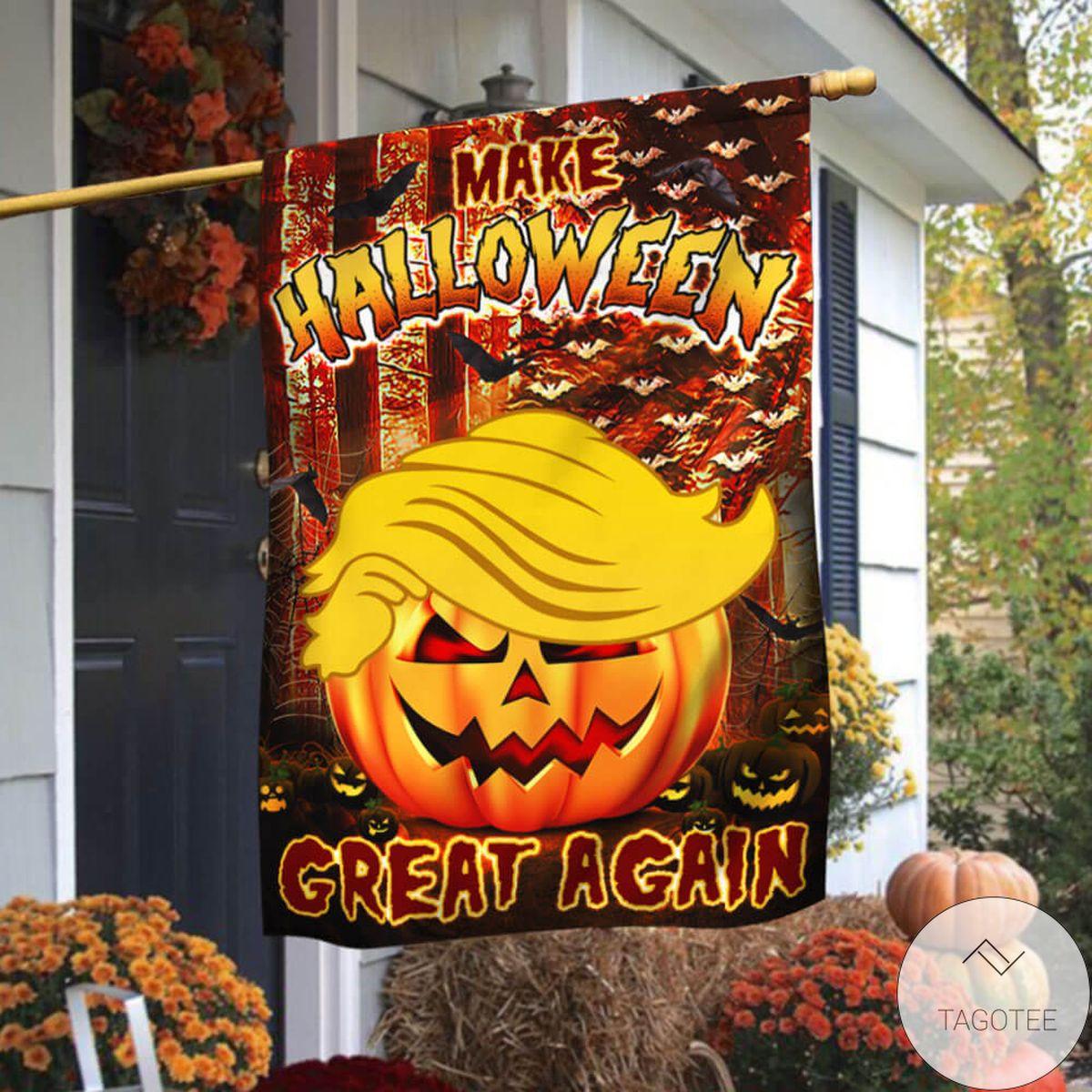 Make Halloween Great Again Flag