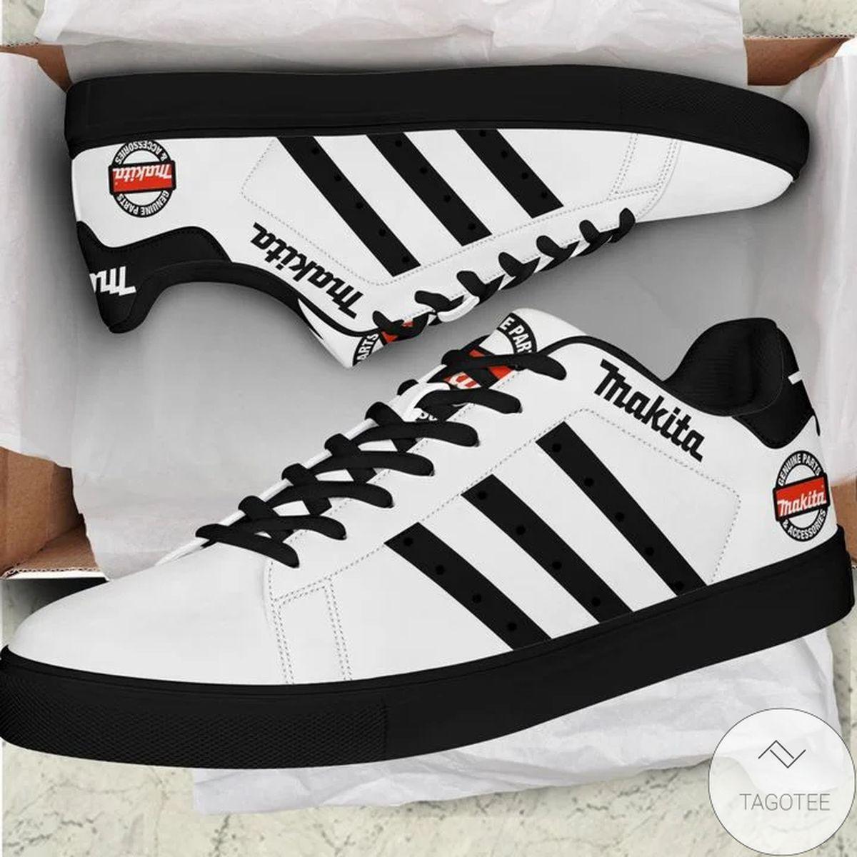 Makita White Abd Black Stan Smith Shoes
