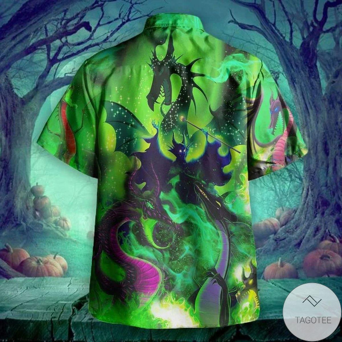 Best Gift Maleficent Dragon Hawaii Hawaiian Shirt