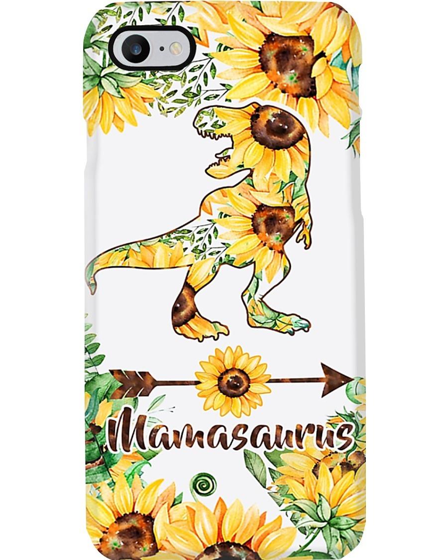 Mamasaurus Sunflowers phone case 7