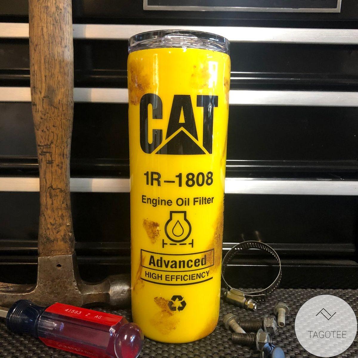 Manly Oil Filter For Caterpillar Skinny Tumbler