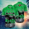 Marshall Thundering Herd Tropical Hawaiian Shirt, Beach Short