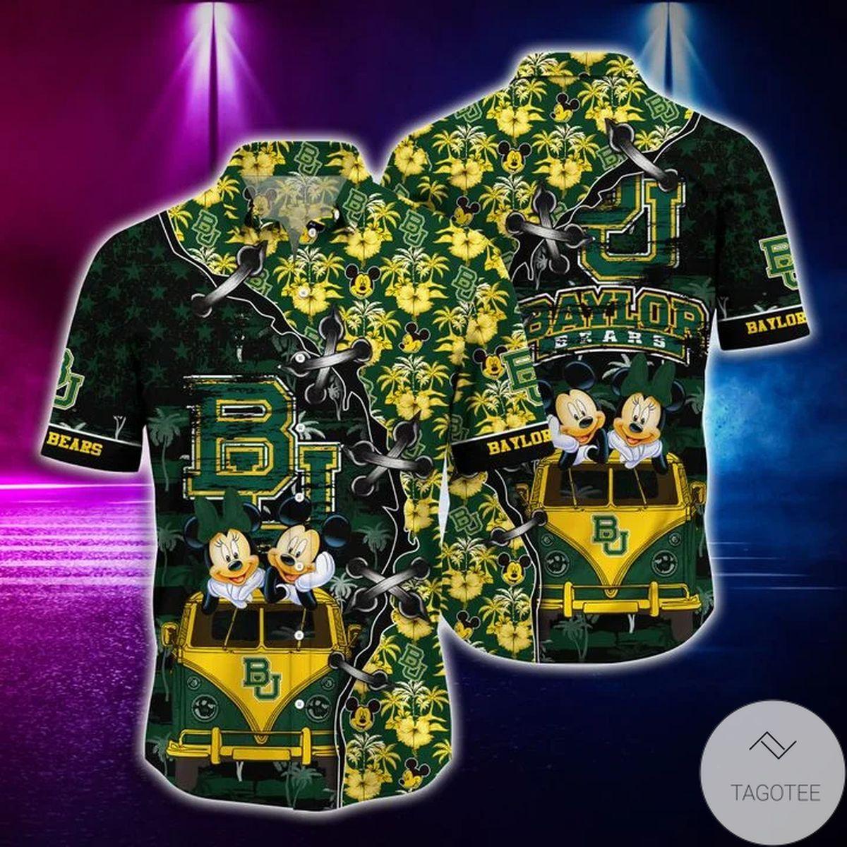 Mickey Mouse Baylor Bears NCAA Hawaiian Shirt